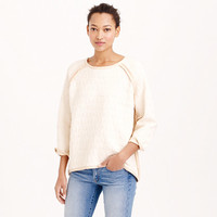 BONDED REVERSIBLE SWEATER