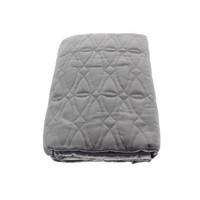 Hotel Collection  Calligraphy Quilted Pattern Pillow Sham