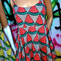SWEET LORD O'MIGHTY! Watermelon Babydoll In Red
