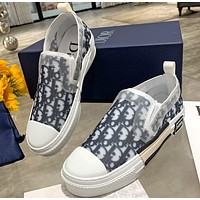 DIOR  B23 Oblique Slip-on Low Top Sneakers