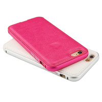 Luxury Leather Handtailor 2 in 1 phone cover cases for iphone 5 5s 6 6 plus PT1855