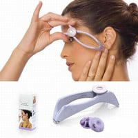 Free shipping Hot New Body Hair Epilator Threader System Facial Hair Removal Makeup Beauty Tools Uncharged GYH