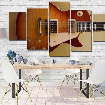 Acoustic Guitar Canvas Set