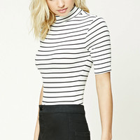 Contemporary Stripe Bodysuit