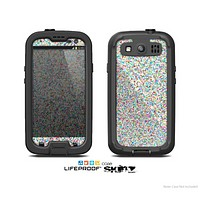 The Colorful Small Sprinkles Skin For The Samsung Galaxy S3 LifeProof Case
