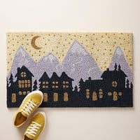 Night Houses Doormat