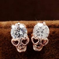 Free Crystal Skull Earrings - Just Pay Shipping!