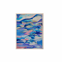 "Ebi Emporium ""Still Up The Air"" Blue Purple KESS Naturals Canvas (Frame not Included)"