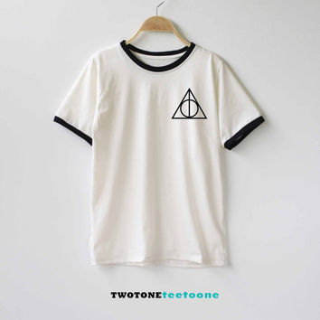 Deathly Hallows Harry Potter Shirt TShirt T-Shirt T Shirt Tee