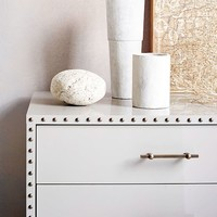 Nailhead 3-Drawer Dresser