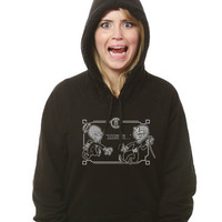"""Doctor Who """"Silent Comedy"""" Hoodie - ForHumanPeoples"""