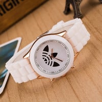 Casual Fashion Watch ad Sport Silicone Watches Women Dress Quartz Brand Ladies Wristwatches Reloj Mujer New Hot Christmas Gift