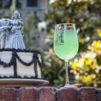 The Haunted Mansion Stemmed White Wine Glass