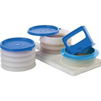 Tupperware | Hamburger Press & Keepers Deluxe Set