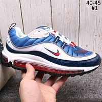 NIKE AIR MAX 98 2018 new casual sports breathable mesh running shoes F-A36H-MY #1