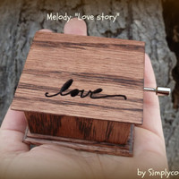 music box, love, love hearts, musicbox, love musical box, love story, last minute gift, music box songs, simplycoolgifts