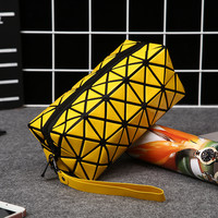 Fashion Brand Women's Cosmetic Bags Cases Transparent Organizer Ladies Travel Small Cosmetic Bag For Make Up Zipper Pouch