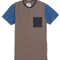 On The Byas Jason Color Blocked Henley T-Shirt at PacSun.com