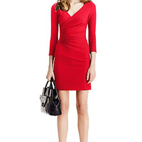 DVF Eliana Ceramic Sheath Dress