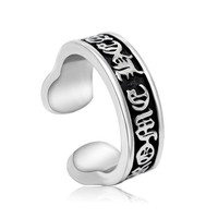 Stylish Gift Shiny New Arrival Jewelry Korean Titanium Men Vintage Strong Character Accessory Ring [6526792707]