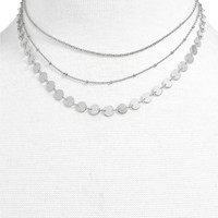 BaubleBar Sophia Layered Collar Necklace | Nordstrom