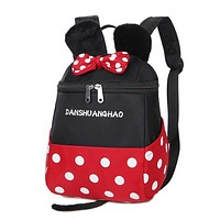 2017 Little Children Toddler Backpack Lovely Children Backpack Kindergarten Backpack Cartoon Mickey Backpack Sac Enfant