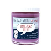 Dumbledore's Office  Book Lovers' Scented Soy Candle by Frostbeard