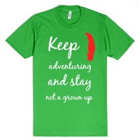 Spieling Peter Pan-Unisex Grass T-Shirt