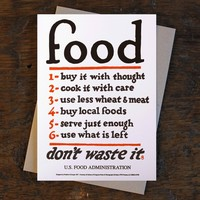 Nourishment: Food Rules Print