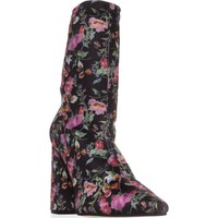 Steve Madden Lombard Ankle Boots, Floral, 8 US