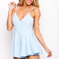 HelloMolly   The Best Day Playsuit Blue