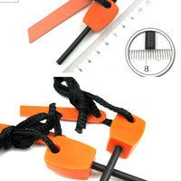 Magnesium Fire Starter Rod Flint for Emergency Survival Gear, Camping, Hiking, everyday carry