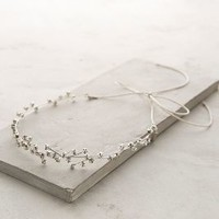 Orion Circlet Heaband by Jennifer Behr Silver One Size Jewelry