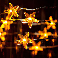 Twinkle Twinkle Little Star LED Battery operated string lights/ Perfect for Christmas