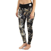 Pittsburgh Steelers KLEW Forever Collectibles Women's Thematic Leggings S-XL