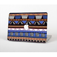 """The Abstract Blue and Brown Shaped Aztec Skin for the Apple MacBook Air 13"""""""