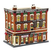 Department 56 Christmas in the City Village Jacobs' Pharmacy Light House, 8.07""