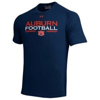 Under Armour College Football Tech T-Shirt - Men's