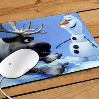 Sven And Olaf Funny Cartoon Mousepad | Aneend