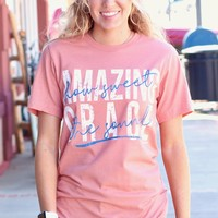 Amazing Grace Tee {Sunset} - Size XL
