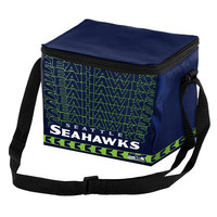 Seattle Seahawks Official NFL Impact 6-pack Cooler