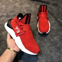 Red Y3 Running Sports Shoes Sneakers 008