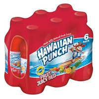 Hawaiian Punch Fruit Juicy Red, 10 fl oz, 6 pack - Walmart.com