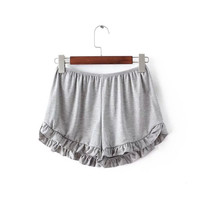 Lace Pants Shorts [6048826049]