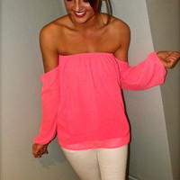 Straight Forward in Neon Pink | The Rage