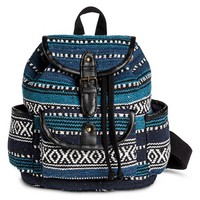Women's Aztec Print Mini Backpack Handbag with Dr...: Target