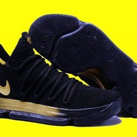 Nike KD 10 EP Black Gold For Sale
