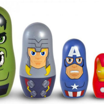 Marvel Avengers Nesting Dolls Set