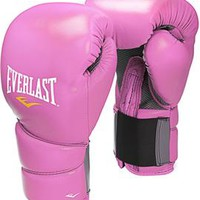 Everlast Protex 2 Pink Training Boxing Gloves