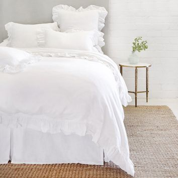 Madison White Duvet Set by Pom Pom at Home
